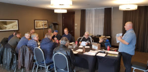 Canuck Brothers Transport safety meeting