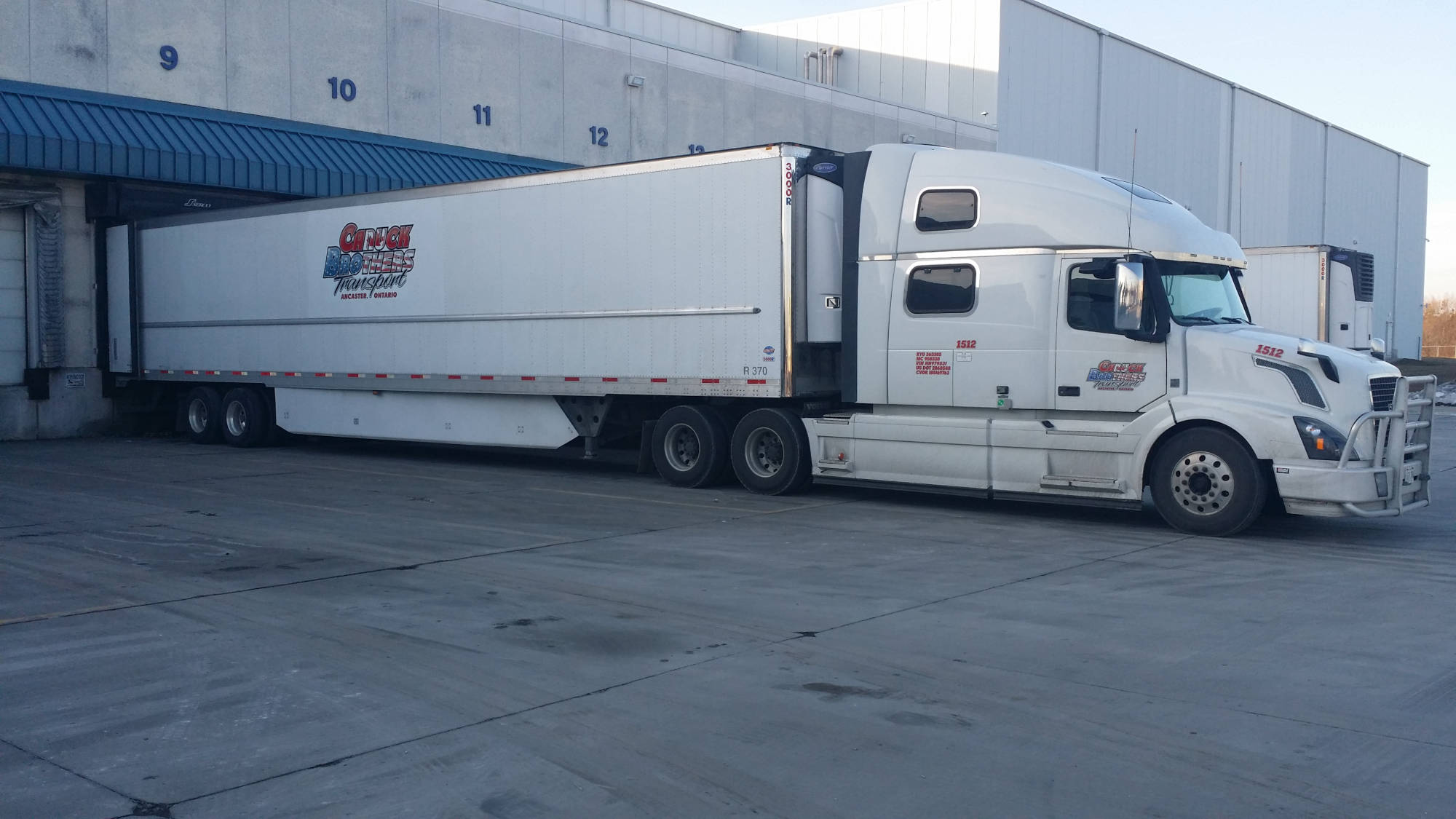 Canuck Brothers Truck docked